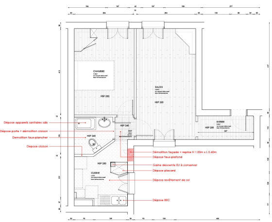 Plan demolitions